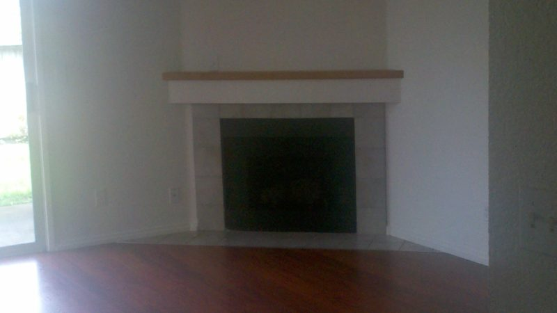 picture of 1030 burton end townhome gas fireplace and living room area