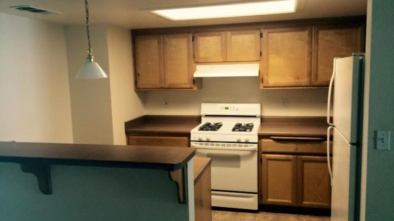 picture of redwood middle kitchen