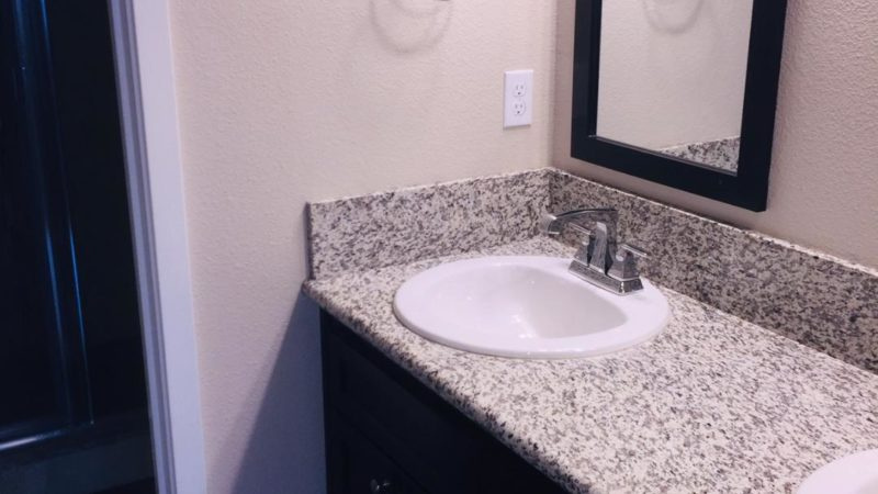 photo of city lights floor plan a bathroom vanity