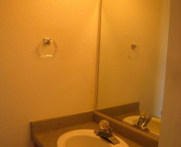 picture of willow park end townhome vanity