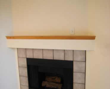 picture of willow park end townhome gas fireplace