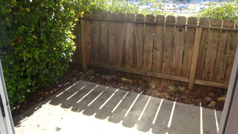 picture of 1425 serrano end townhome patio