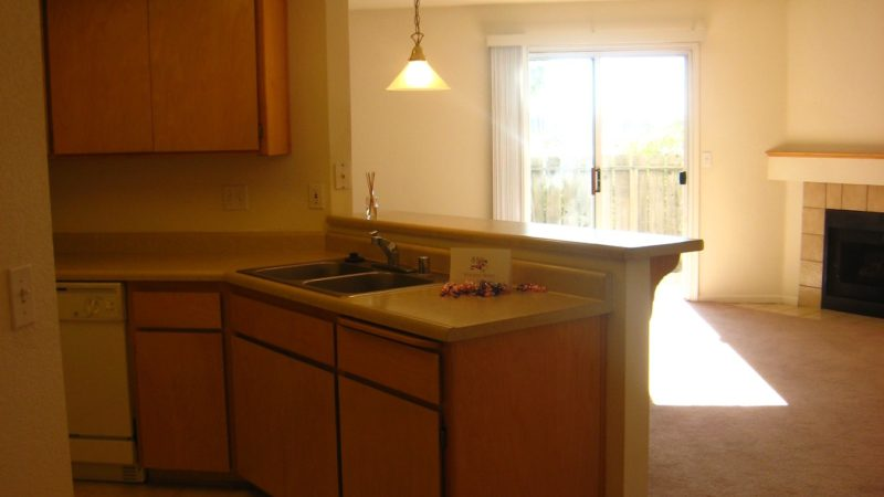 picture of 1425 serrano end townhome kitchen and living area