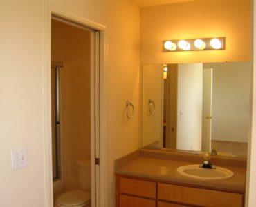 photo of burton middle unit vanity area