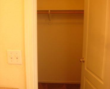 photo of burton middle unit bedroom closet