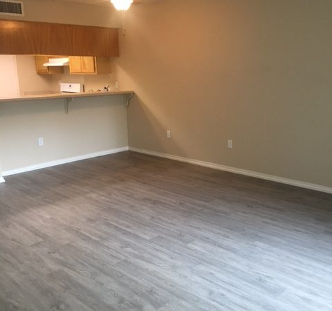 picture of willow park middle remodeled townhome living room with laminate flooring
