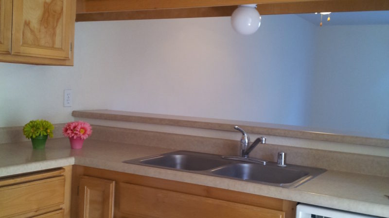 picture of willow park middle townhome sink and eating bar
