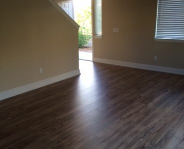 picture of New wood laminate flooring