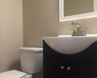 picture of floor plan b 1/2 bath vanity